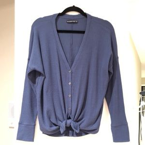 Abercrombie & Fitch Tie Front Shirt